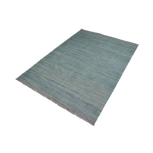 moderen stripe Vloerkleed Tapijt Kelim 247x175 cm Kleed Hand Geweven Kilim