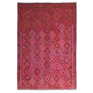exclusive  Kelim Teppich 246x168 cm afghan kilim teppich
