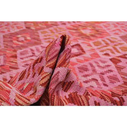 exclusive  Vloerkleed Tapijt Kelim 246x168 cm Kleed Hand Geweven Kilim
