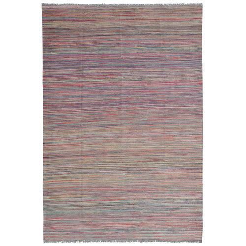 modern stripe  Kelim Teppich 240x166 cm afghan kilim teppich