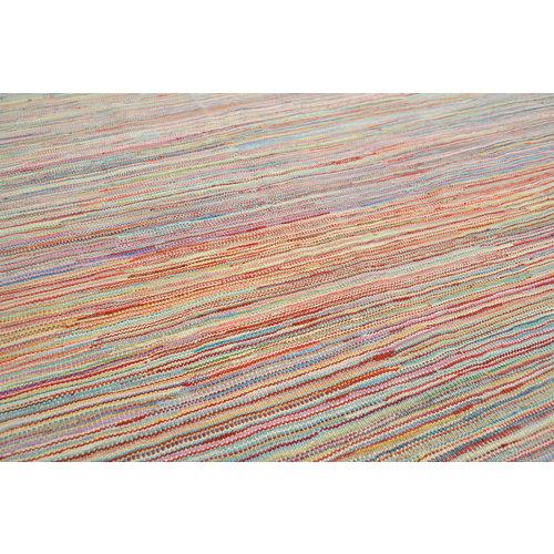 exclusive  Vloerkleed Tapijt Kelim 236x167 cm Kleed Hand Geweven Kilim