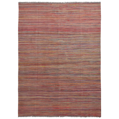 exclusive Sheep Wool Hand woven 240x173 cm Afghan kilim Carpet Rug 7'8x5'6