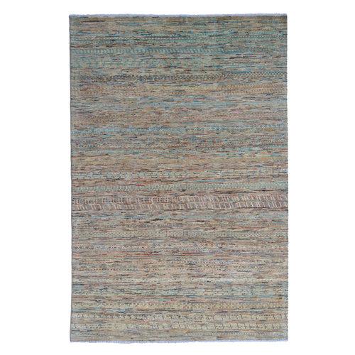 Handgeknoopt Modern barjasta tapijt 240x165cm  oosters kleed vloerkleed