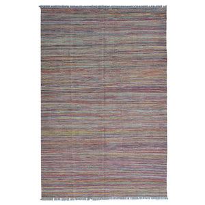 modern exclusive  Vloerkleed Tapijt Kelim 244x167 cm Kleed Hand Geweven Kilim