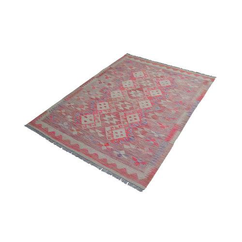 exclusive  Vloerkleed Tapijt Kelim 234x171 cm Kleed Hand Geweven Kilim