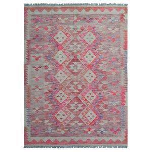 exclusive  Kelim Teppich 234x171 cm afghan kilim teppich