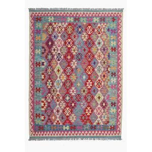 exclusive  Kelim Teppich 239x176 cm afghan kilim teppich