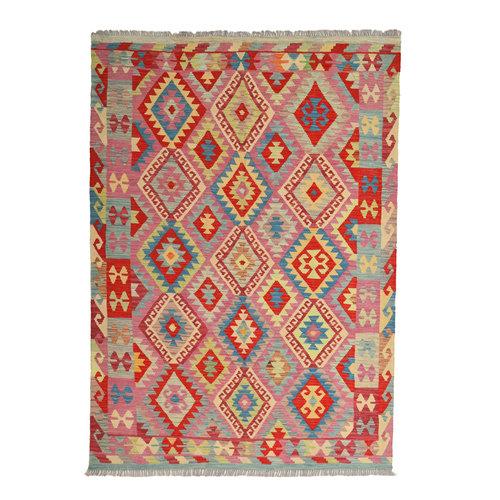 exclusive  Kelim Teppich 245x173 cm afghan kilim teppich