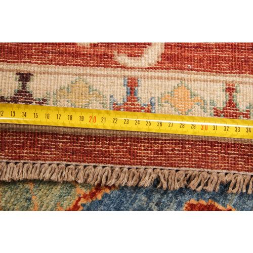 Farahan  Handgeknoopt Suzani ziegler tapijt 301x199 cm  oosters kleed vloerkleed