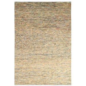 Handgeknüpft Modern stripe Gabbeh 290x197 cm Abstrakt Wolle Teppich multi