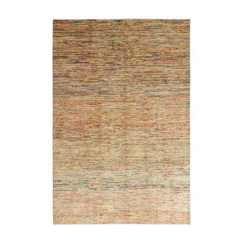 Handgeknüpft Modern stripe gabbeh  298x204 cm   Abstrakt Wolle Teppich multi
