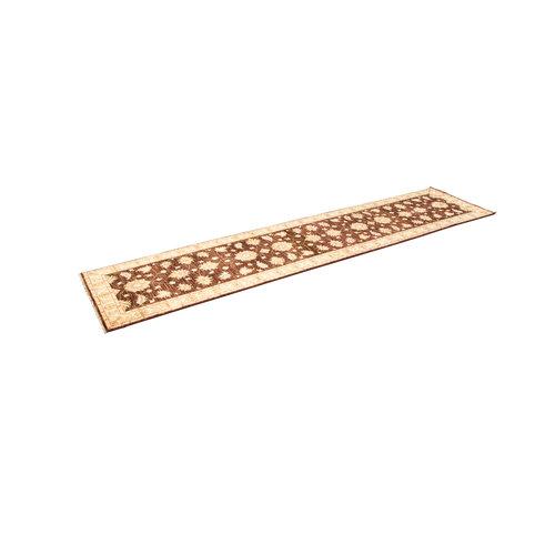 Handgeknüpft ziegler Läufer teppich  Farahan 362x83 cm