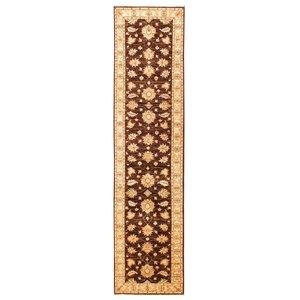 Farahan original ziegler loper farahan hand geknoopt tapijt 362x83 cm  vloerkleed