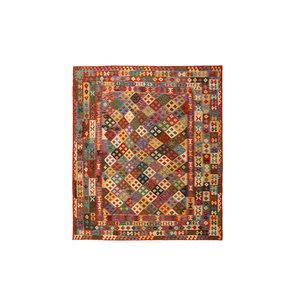 exclusive  Kelim Teppich 300x252 cm afghan kilim teppich