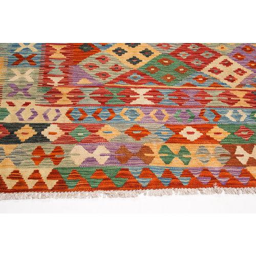 exclusive Sheep Wool Hand woven 300x252 cm Afghan kilim Carpet Rug 9'8x8'2