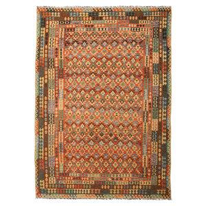 exclusive  Kelim Teppich 352x252 cm afghan kilim teppich