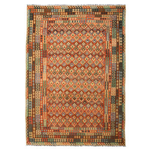 exclusive Sheep Wool Hand woven 352x252 cm Afghan kilim Carpet Rug 11'5x8'2