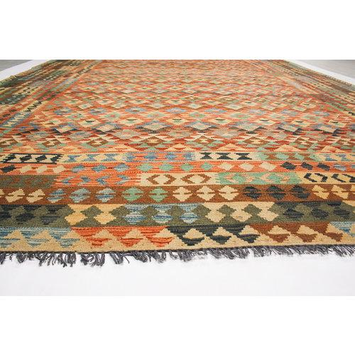 exclusive Sheep Wool Hand woven 352x252 cm Afghan kilim Carpet Rug 11'5x8'2