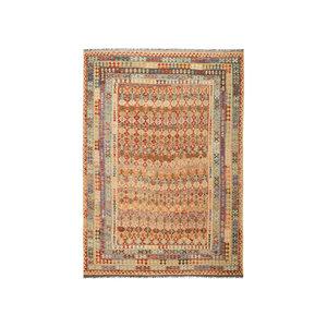 exclusive Sheep Wool Hand woven 350x243 cm Afghan kilim Carpet Rug 11'4x7'9