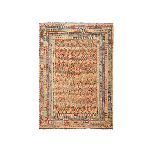 exclusive  Kelim Teppich 350x243 cm afghan kilim teppich