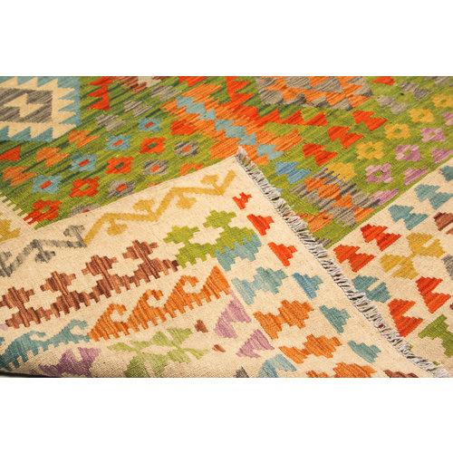exclusive  Kelim Teppich 296x245 cm afghan kilim teppich