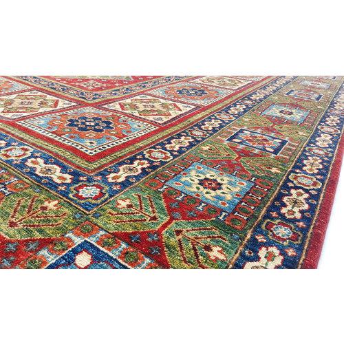 (8' x 8'2) feet super fine oriental kazak rug 244x250 cm