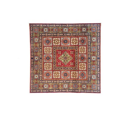 super fein oriental kazak teppich 244x250 cm