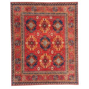 (9'8 x 8') feet super fine oriental kazak rug 300x245 cm