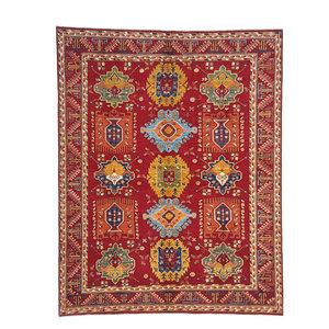 (9'6 x 8') feet super fine oriental kazak rug 295x245 cm