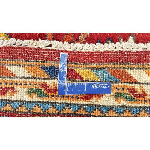super fijn oriental kazak vloerkleed 295x245 cm