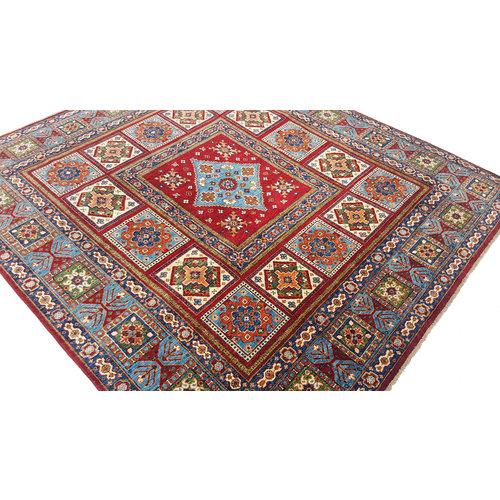 (8'2 x 7'6) feet super fine oriental kazak rug 250x232 cm