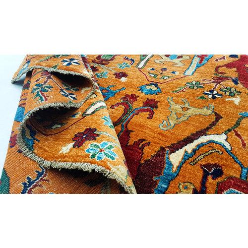 super fijn oriental kazak vloerkleed 289x247 cm