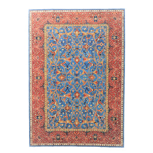 (12'8 x 9'8) feet super fine oriental kazak rug 393x299 cm
