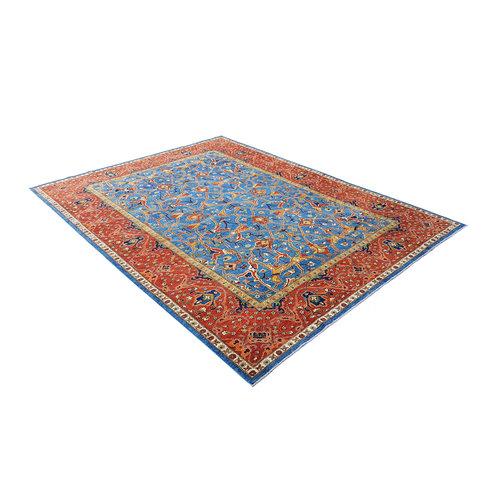 super fein oriental kazak teppich 393x299 cm