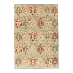 Handgeknoopt Modern Art tapijt 300x250 cm  oosters kleed vloerkleed  multi
