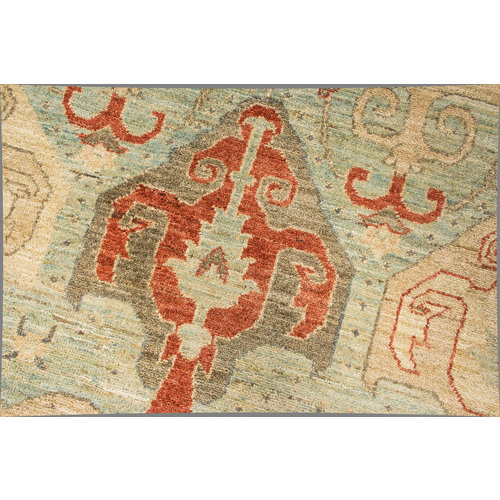Hand knotted 9'8x8'2 Modern  Art  Wool Rug 300x250 cm  exclusive Carpet