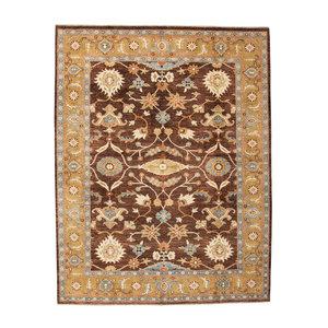 Farahan Oushak Hand knotted 10'x7'8 ziegler rug  farahan Wool Rug 307x239 cm