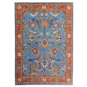 super fein oriental kazak teppich 419x307 cm