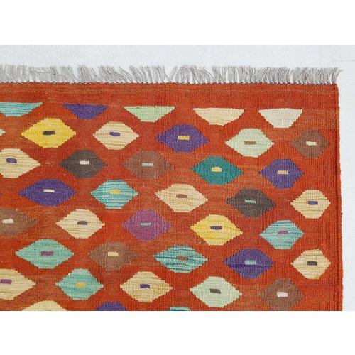 exclusive  Kelim Teppich 300x199 cm afghan kilim teppich