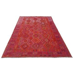 exclusive  Kelim Teppich 294x207 cm afghan kilim teppich