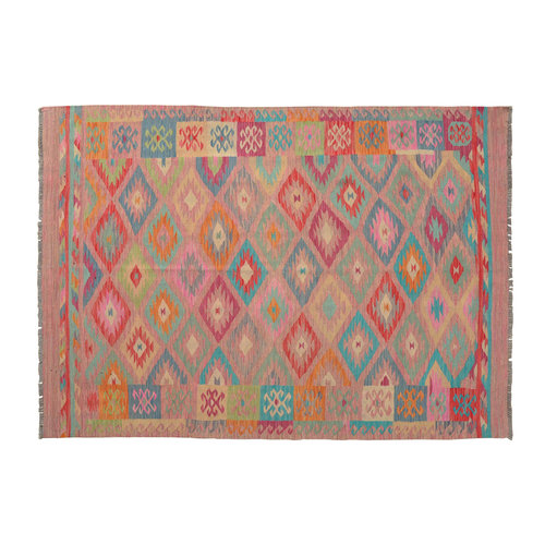 Kelim Kleed 234X169 cm Vloerkleed Kwaliteit Tapijt Kelim Hand Geweven