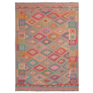 Kelim Teppich 234X169 cm Qualität Handgewebt afghan kelim teppich