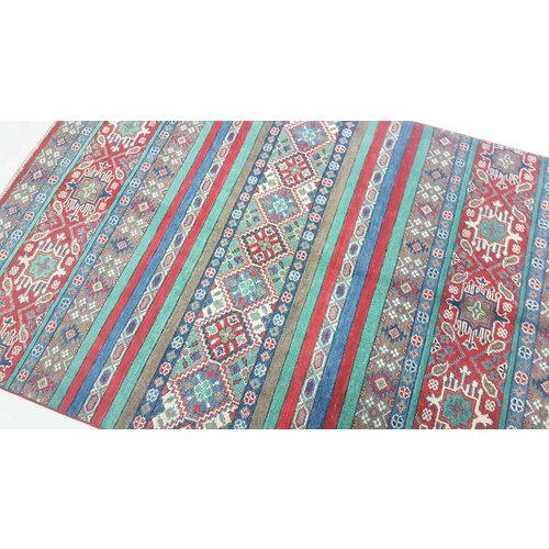 Handgeknoopt kazak tapijt 178x125 cm  oosters kleed vloerkleed