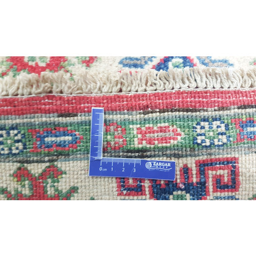Hand knotted  5'8x3'9 wool kazak area rug  179x120 cm  Oriental carpet