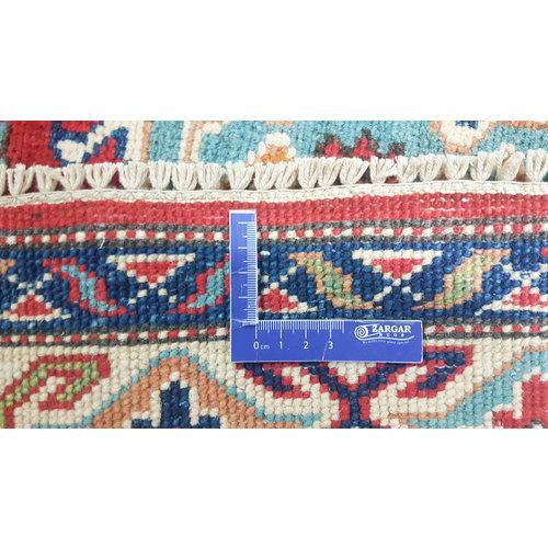 Hand knotted  5'7x4'0 wool kazak area rug  175x123 cm  Oriental carpet