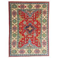 Handgeknüpft wolle kazak teppich  159x123 cm   Orientalisch teppichboden