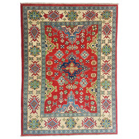 Handgeknoopt kazak tapijt 159x123 cm  oosters kleed vloerkleed