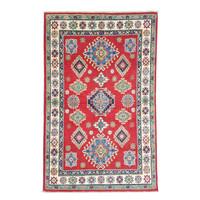 Handgeknoopt kazak tapijt 183x119 cm  oosters kleed vloerkleed