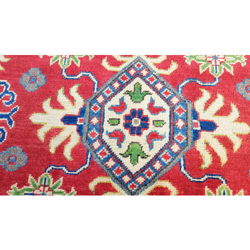 Handgeknoopt kazak tapijt 180x120 cm  oosters kleed vloerkleed