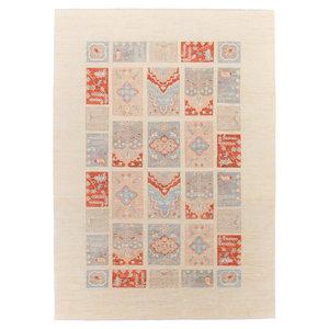 Handgeknüpft Modern Art 358x252 cm Abstrakt Wolle Teppich